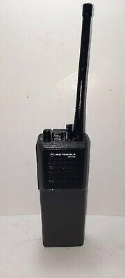Motorola Mt1000 Vhf 152.9-174mhz 16ch 5w Radio Wscan Free Program Pd Fd Murs