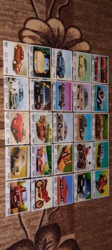 Full set bubble gum wrappers Turbo 51 - 120
