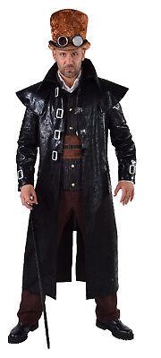 Steampunk Mantel Cowboy Barock Rokoko Kostüm Mittelalter Gothic Piraten Gangster ()