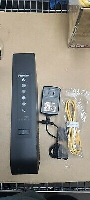 Arris Frontier Ethernet Gateway Wi-Fi Modem Router NVG468MQ with adapter/Cat5