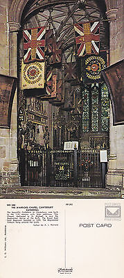 1970's THE WARRIORS CHAPEL CANTERBURY CATHEDRAL CANTERBURY KENT COLOUR POSTCARD