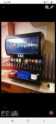 Soda Ice Dispensing Machine 10 Heads