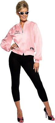 Women's 1970's Licensed Grease Pink Lady Jackets & Logo Sandy Rizzo Hen Theme