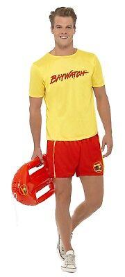 SMIFFY 32868 Baywatch Lifeguard Strandkostüm Karneval Herren Kostüm Lizenz - Lifeguard Kostüm Herren