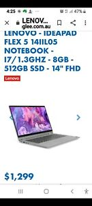 lenova flip touch screen laptop