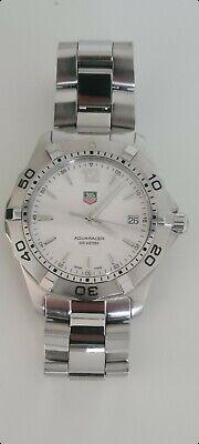 TAG Heuer Aquaracer 300m White Men's Swiss Watch