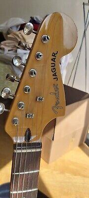 Second Hand Fender Jaguar Modern Player Red 2012- Electric Guitar