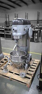 Hobart 60qt Dough Mixer Model H600 Bowl Whip Paddle Hook 120v-1ph