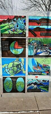 Vintage 1972 Scholastic Our Changing Earth Transparent Overhead Projector Films