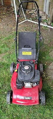 Sanli Self Propelled 4 stroke OHV 400 Petrol Lawnmower - used, parts and repairs