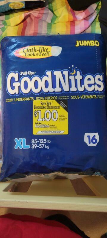 vintage goodnites xl