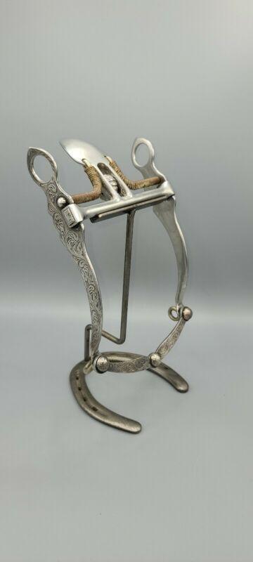 Garcia SPADE Sterling Silver Horse Collectors Bit