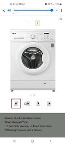 2 year old LG 7kg Washing Machine in an excellent condition