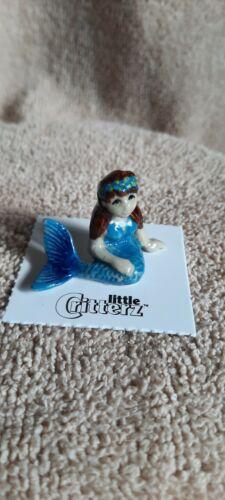 "LITTLE CRITTERZ Mermaid Child ""Blue"" Miniature Figurine New FREE SHIPPING LC932"