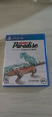 Burnout Paradise Remastered PlayStation 4 Brand New for sale  Shipping to Nigeria