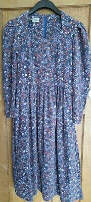 Laura Ashley Vintage Needlecord Dress UK14