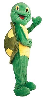 ADULT PLUSH TURTLE COMPLETE MASCOT COSTUME - Adult Turtle Costumes