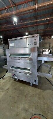 Middleby Marshall Ps360wb Double Stack Conveyor Pizza Ovens