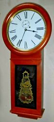 Seth Thomas Clock Co 8-Day Weight Driven #1 Wall Regulator Working Reproduction