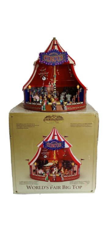 Mr Christmas Gold Label World's Fair Big Top *CONDITION ISSUES*