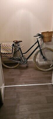 Ladies Orla Kiely Olive And Orange Bike