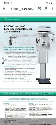 Panoramic Corporation Pc-1000 Dental Panceph X-ray Machine