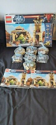 LEGO Star Wars 9516 Jabba's Palace 100% Complete Inc Mini Figures