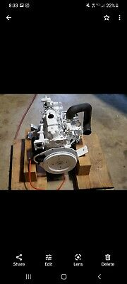 Diesel Engine Yanmar 23 Hp White Runs Missing Altanator 2000 Obo
