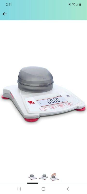 Ohaus, SPX123, Scout Electronic Portable Balance, 120 g x 0.001 g