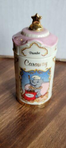 Walt Disney Lenox Dumbo Caraway Vintage Spice Jar 1995