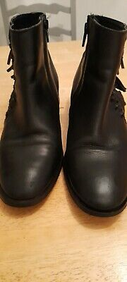 Ladies Top Shop Ankle Boots Size 5