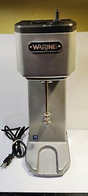 Waring Wdm120 Heavy Duty Single Spindle Drink Mixer Commercial Milk Shake