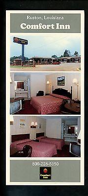 Oversized Postcard Louisiana La Ruston Comfort Inn