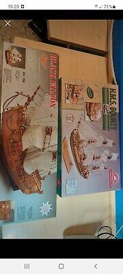 Velieri in legno / Wooden sailing ships model kits