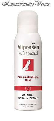 Allpresan Fuß spezial 7 Schaum Creme pilz empfindliche Haut Clotrimazol