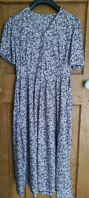 Laura Ashley Vintage Tea Dress UK 16