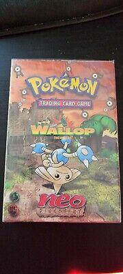 Pokemon Neo Discovery WALLOP Theme Deck (Sealed)