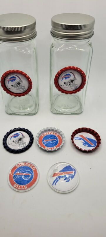 Buffalo Bills Salt And Pepper Shakers And Magnets Nfl Football Gift