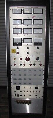X-ray Test Rack Power Supply - 840-40a Dc Power Supply-alarms -meters 1437