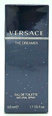 Versace The Dreamer By Versace Eau De Toilette 1.7oz/50ml New in Sealed Box