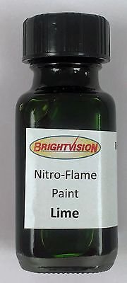 Brightvision LIME Nitro-Flame Redline Restoration and Custom Paint - APPLE GREEN