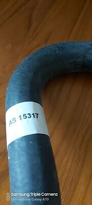Classic mini radiator lower hose without heater take off pipe - New