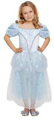 Girls Cinderella Glass Slipper Princess Fancy Dress Up Costume Outfit Age 7-9 yr](Dress Up Glass Slippers)