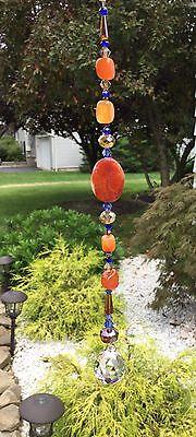 catcher W/Swarovski Elements Light Honey Crystal Ball USA (Glasmalerei Elemente)