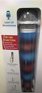 MICROPHONE WIRED WITH SYNCHRONIZED LED LIGHT SHOW (NEW)