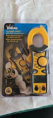 Ideal 61-744 Digital Clamp Meter600a600v
