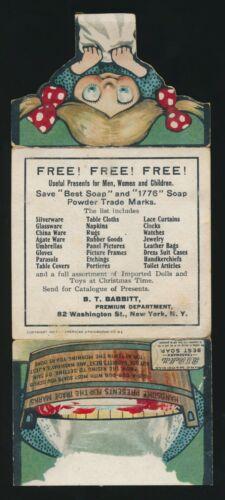 1907 Metamorphic Trade Card -B.T. BABBITT