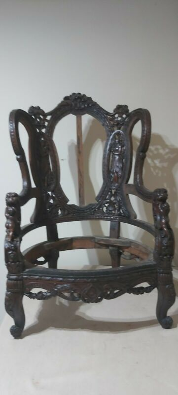 18th c  saloon chair