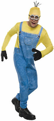 Minion Kevin Adult Men Costume Famous Movie Character Rubies 810464 Halloween (Halloween Costumes Famous Movie Characters)