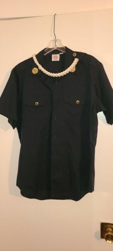 Vintage American Legion Member Shirt Uniform